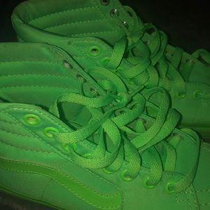 Neon Green Vans